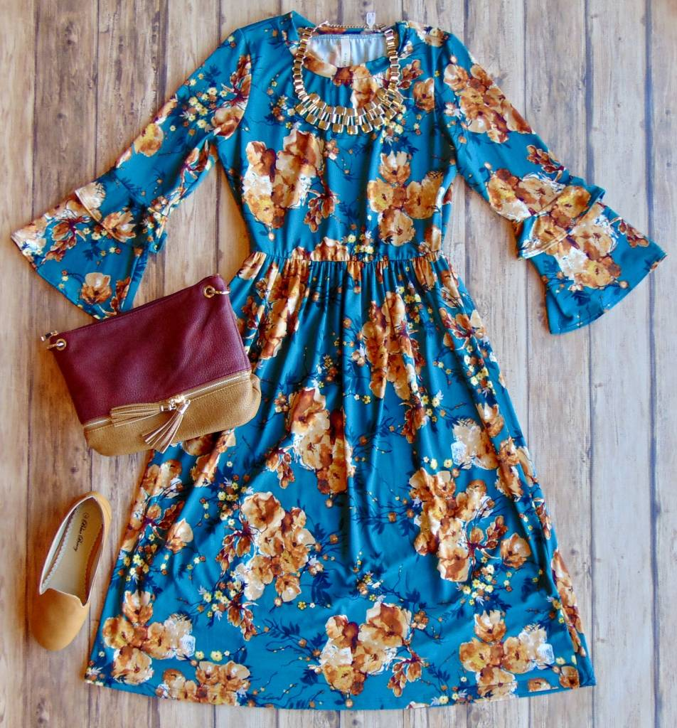 Changing The World Floral Midi