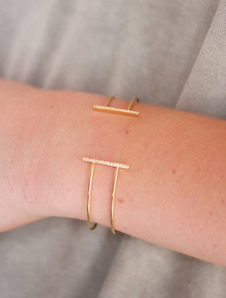 Lombard Cuff Bracelet