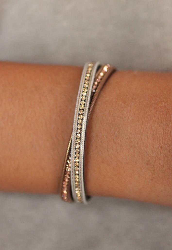 Gig Two Tone Bracelet