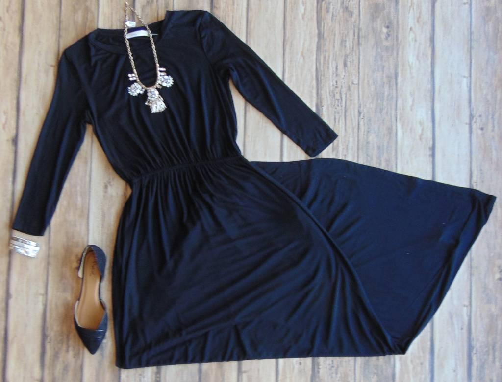 One Call Away Maxi Dress