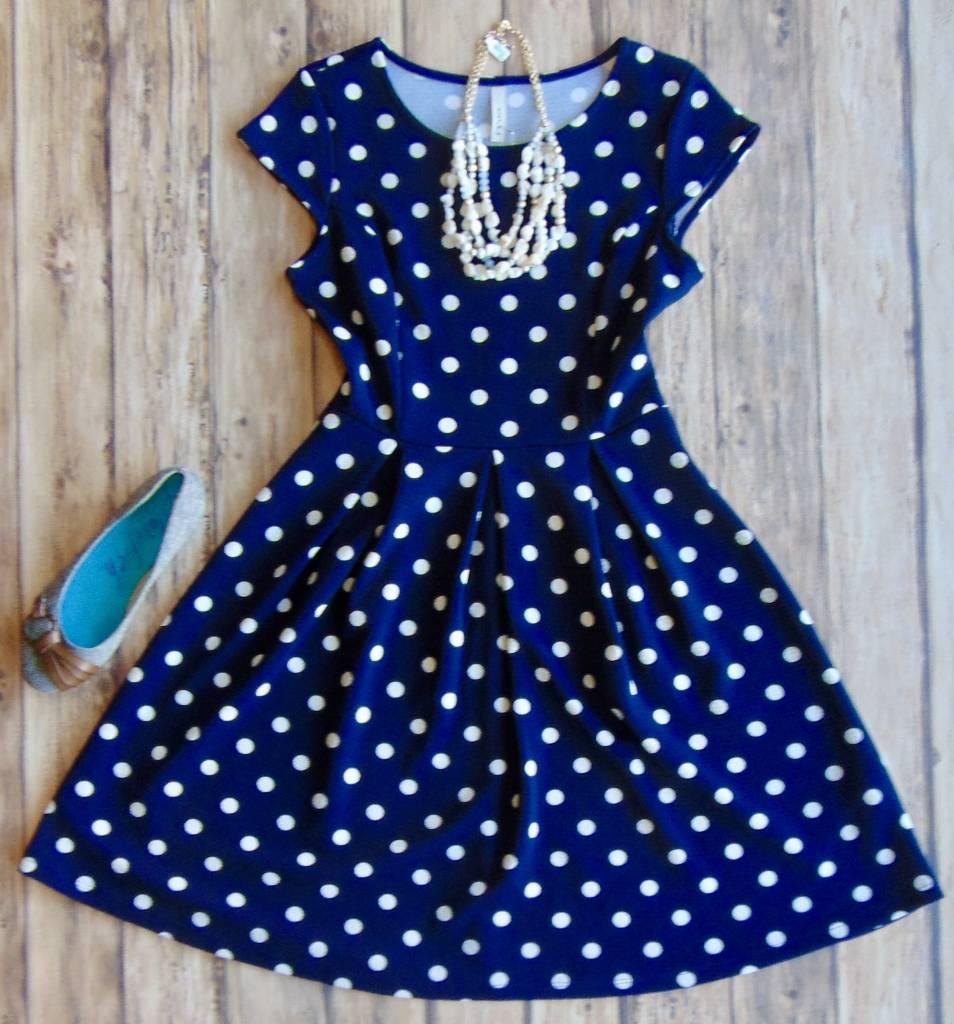 That's The Spot Polka Dot Dress