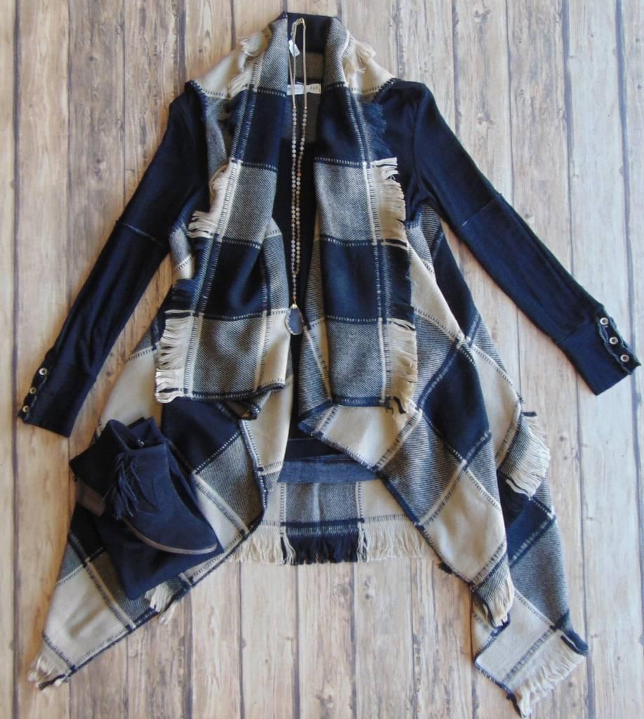 Girl In The City Fringe Vest