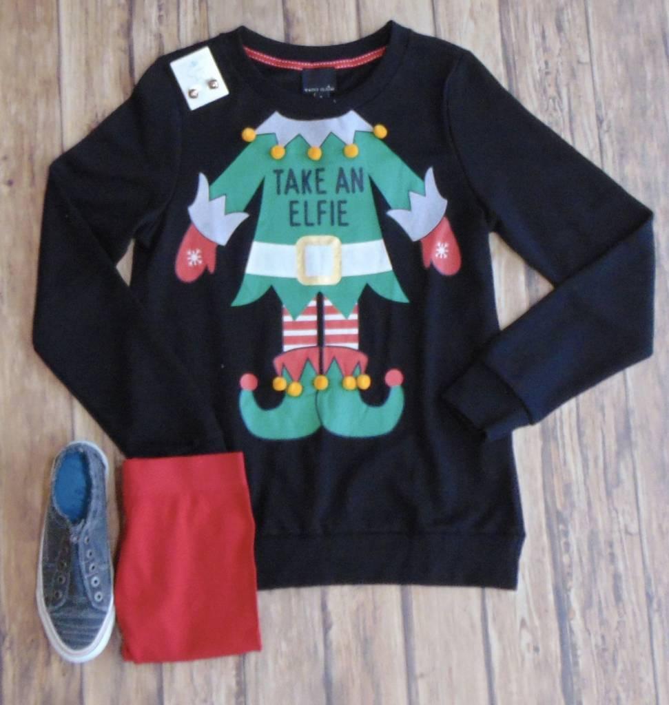 Take An Elfie Sweatshirt