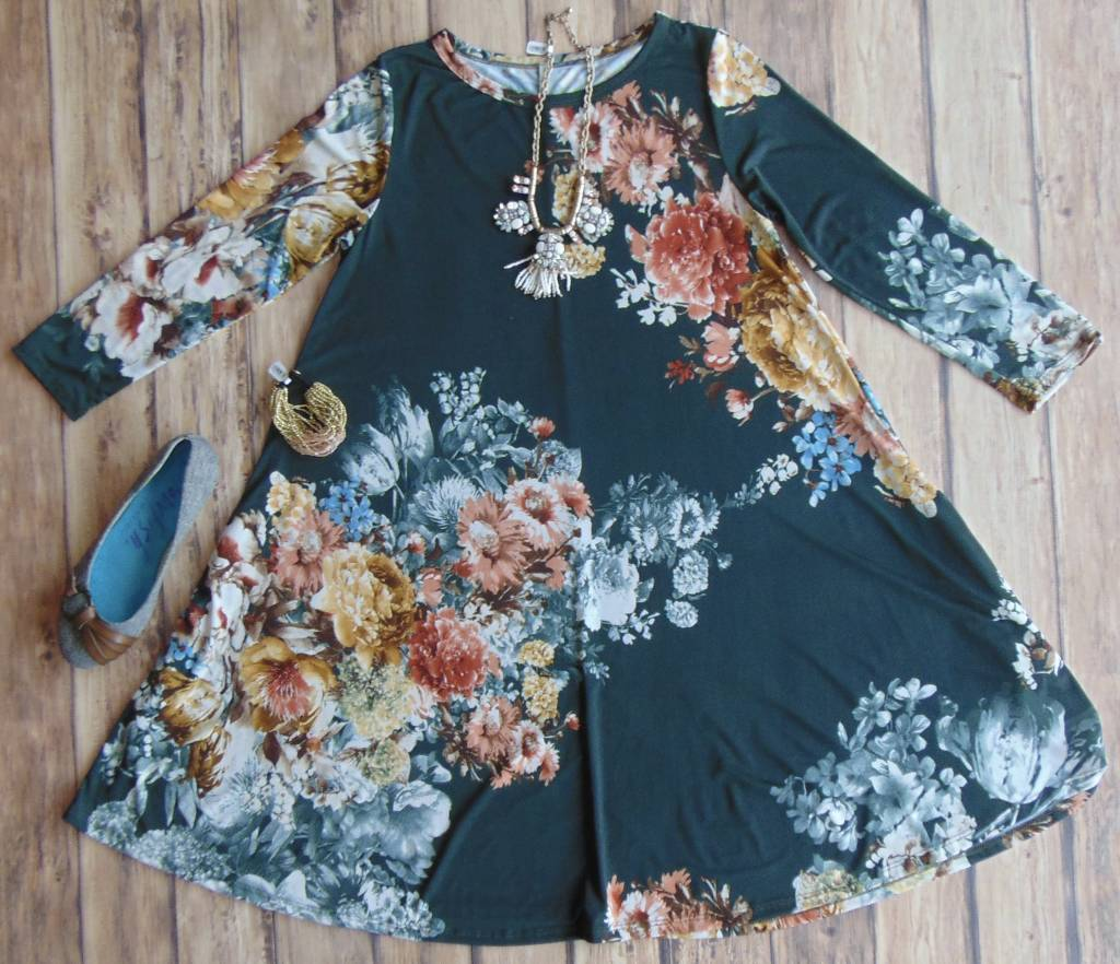Perfection in Florals Dress