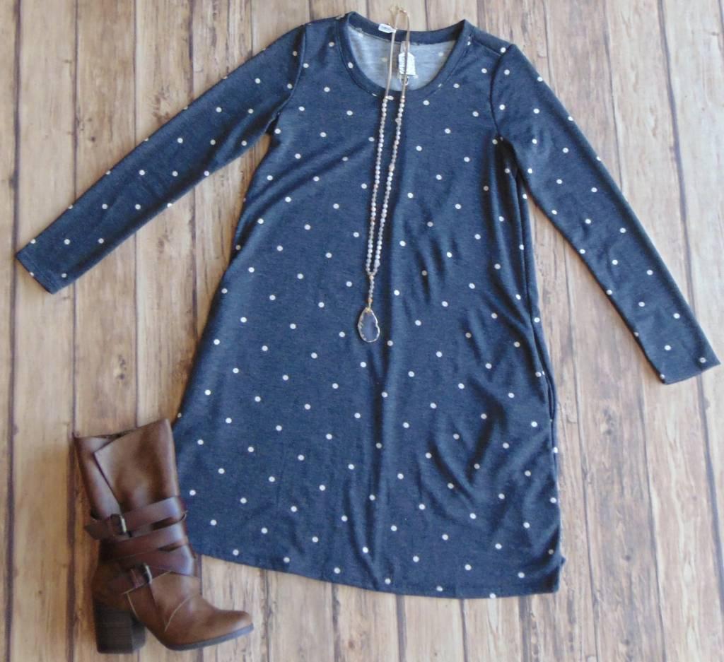 Dot Marks The Spot Tunic Dress
