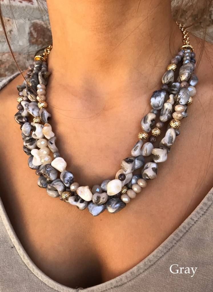 Boone Layered Statement Necklace