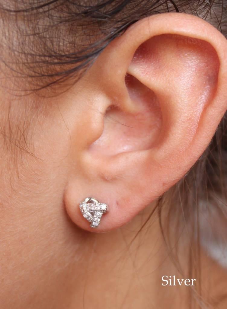 Twisted Post Earrings