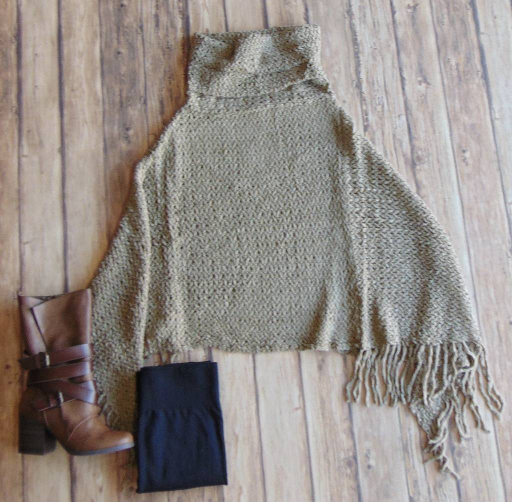 The Cutest and The Coziest Poncho