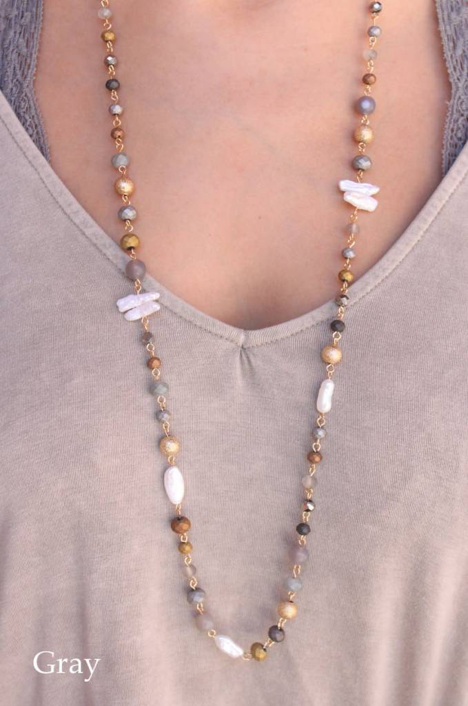 Burmese Pearl Necklace