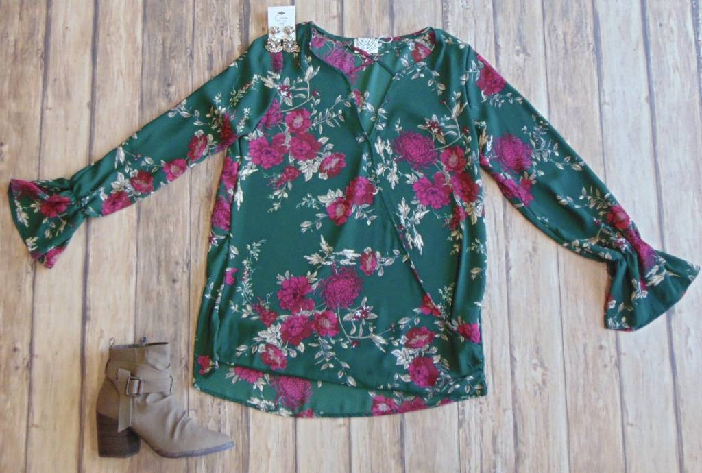 Evergreen With Envy Top