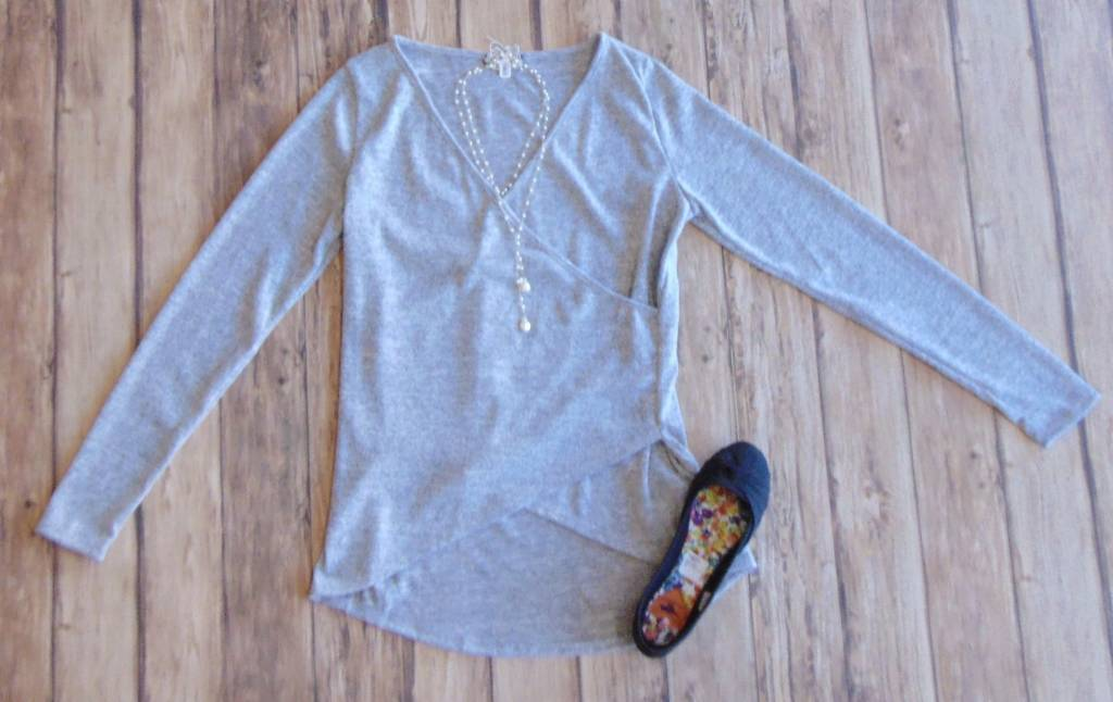 It's Magic Crossover Knit Top