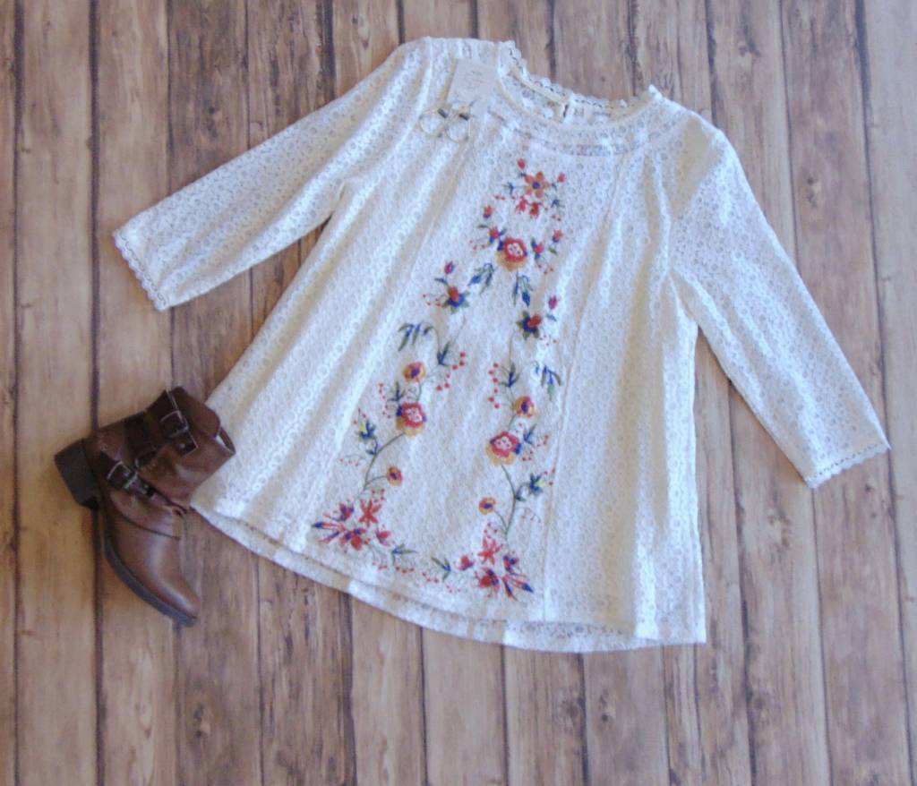 For Flowers Sake Lace Top