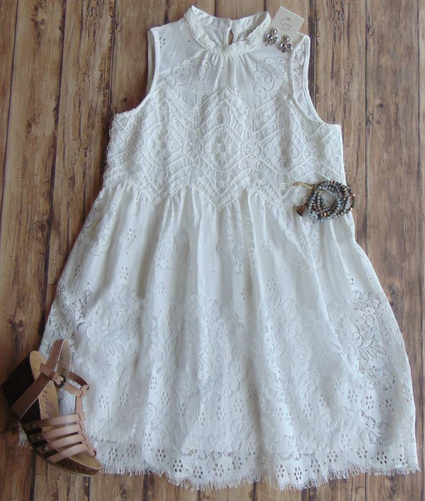Promise Forever Lace Dress