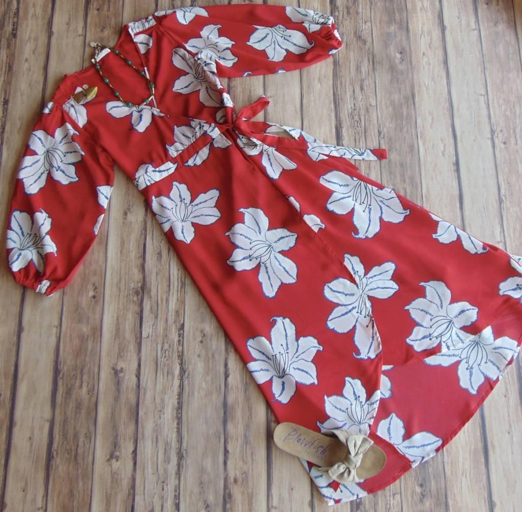 Gorgeous in Gardenia Wrap Maxi
