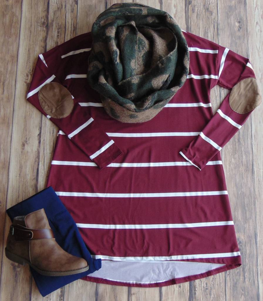 One Step at a Time Tunic