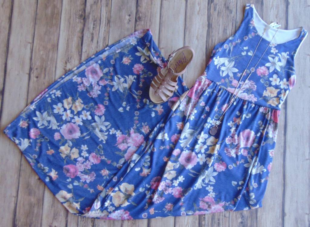 Stay With Me Floral Maxi