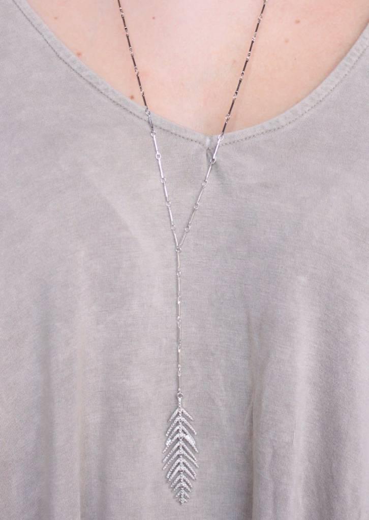 Metal Leaf Pendant
