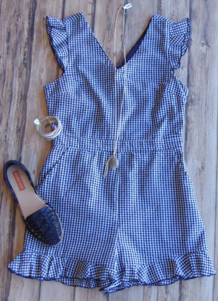 Yellow Brick Road Romper