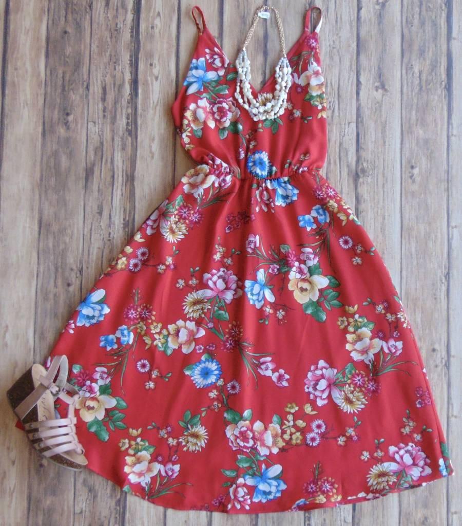The Way You Move Midi Dress