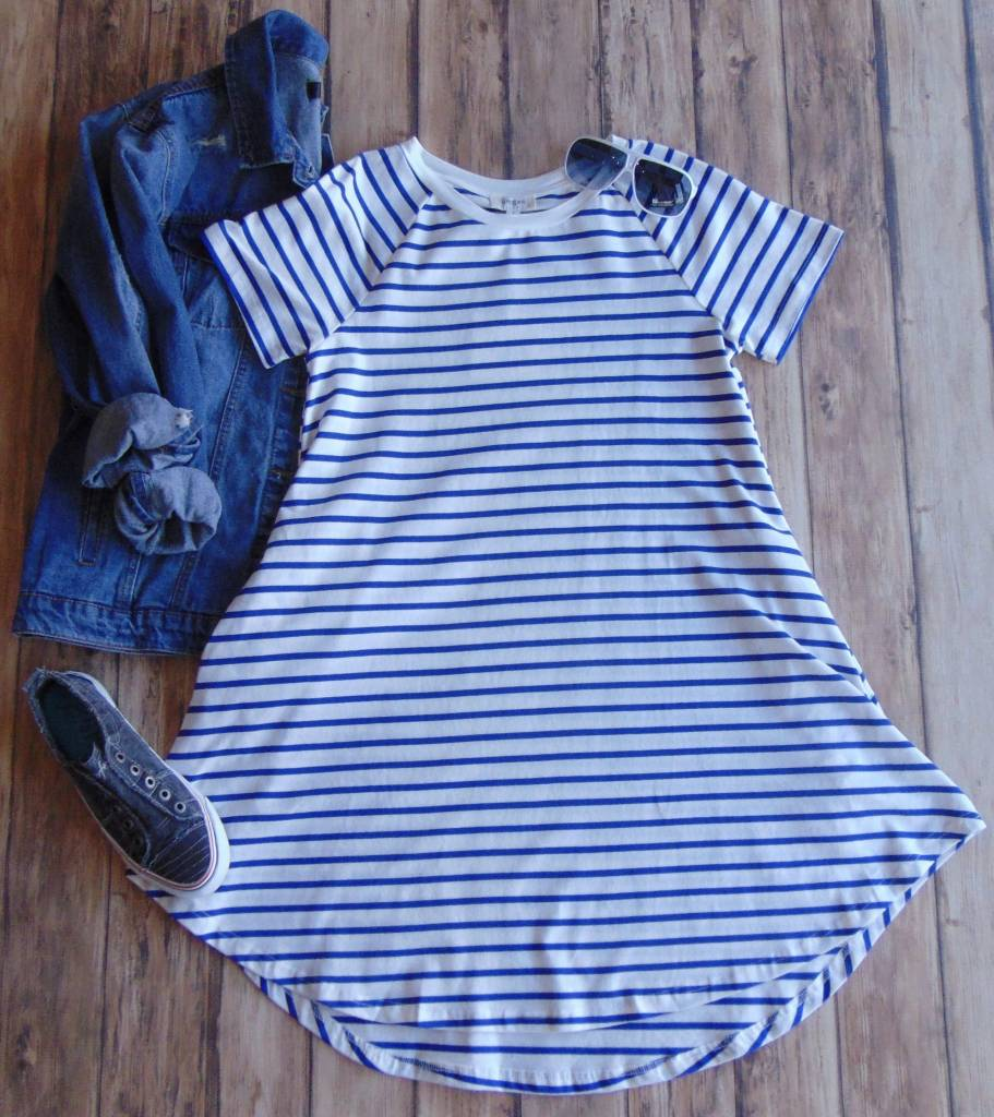 Stand By You Striped Dress