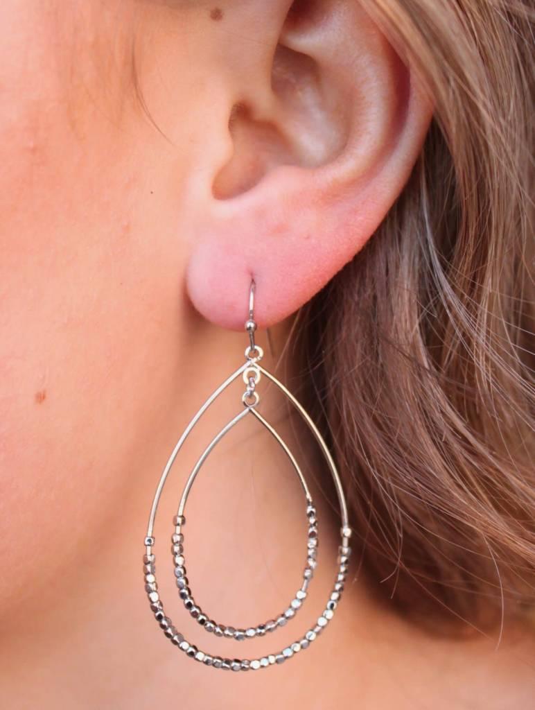 Hale Double Oval Earrings