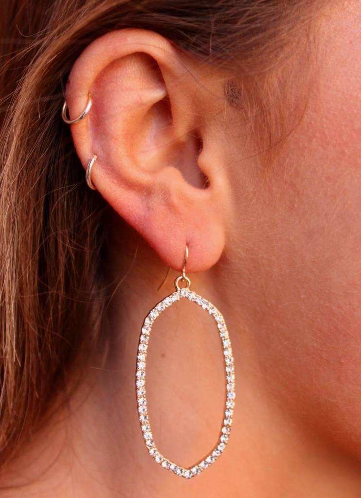 Yolen Oval Earrings