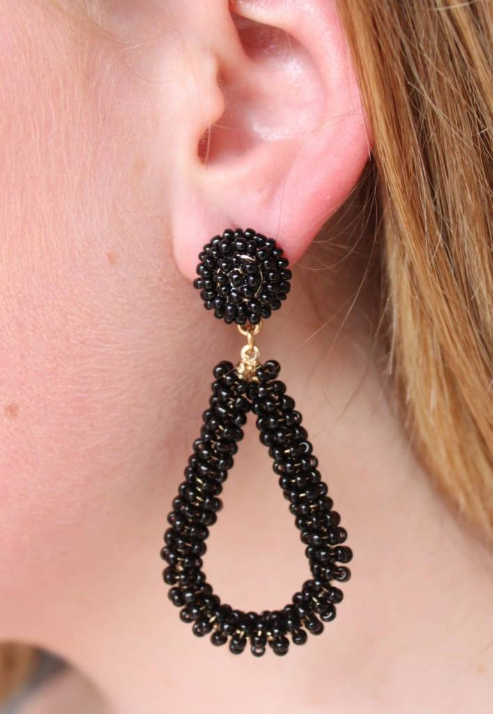 Bela Seed Bead Earrings