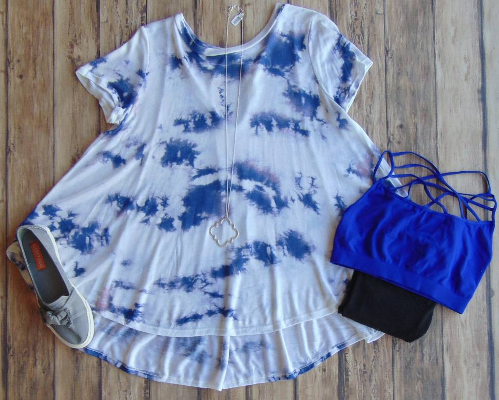 Peace & Love Tie Dyed Top