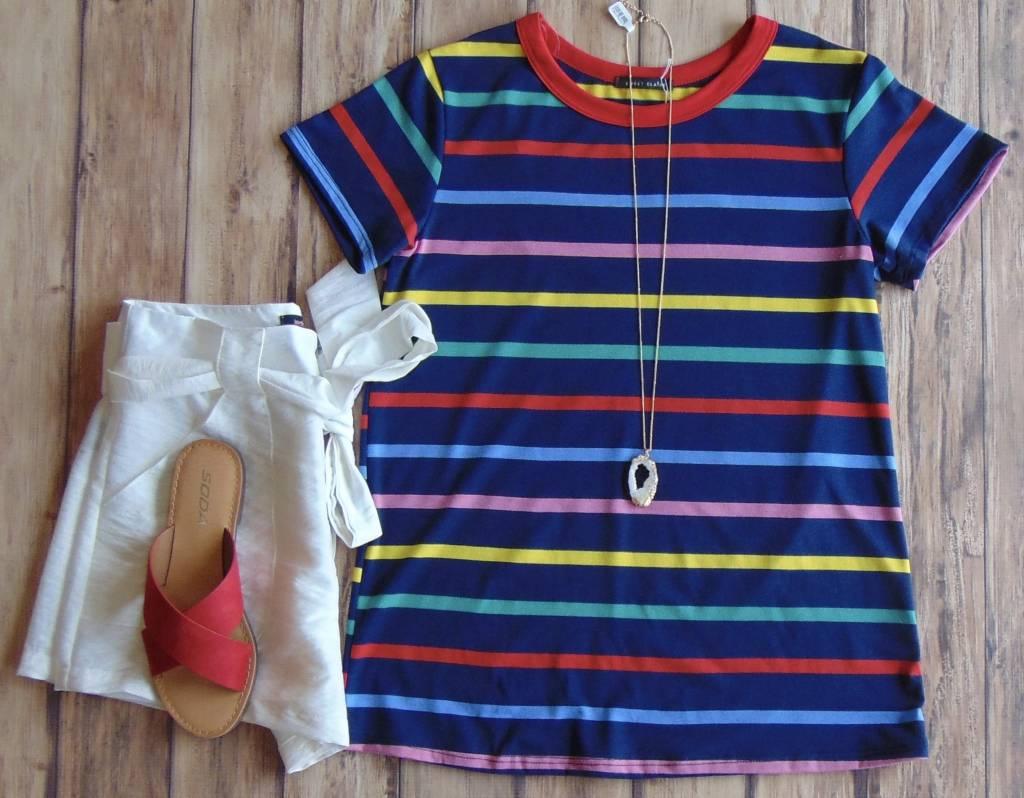 Rainbow Road Tee Shirt