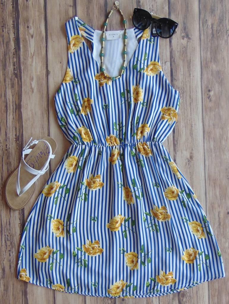 Sunshine and Stripes Dress