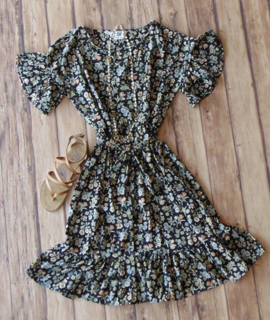 Flowers and Frills Dress