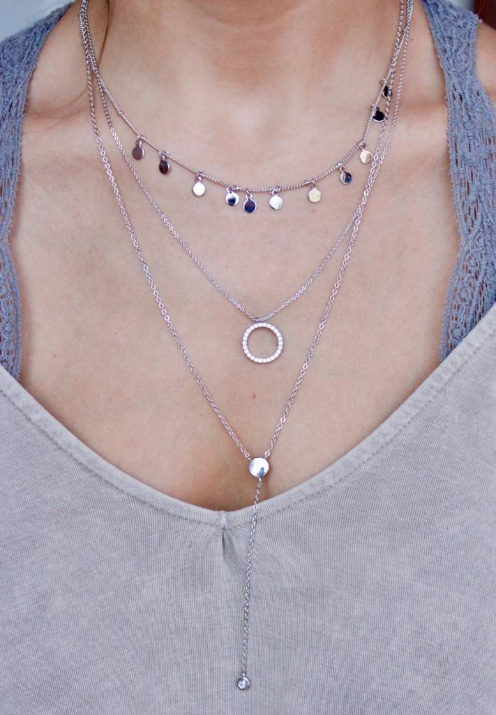 Penny Layered Necklace