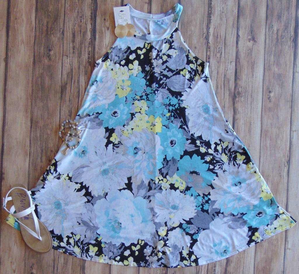 High Tide Halter Dress
