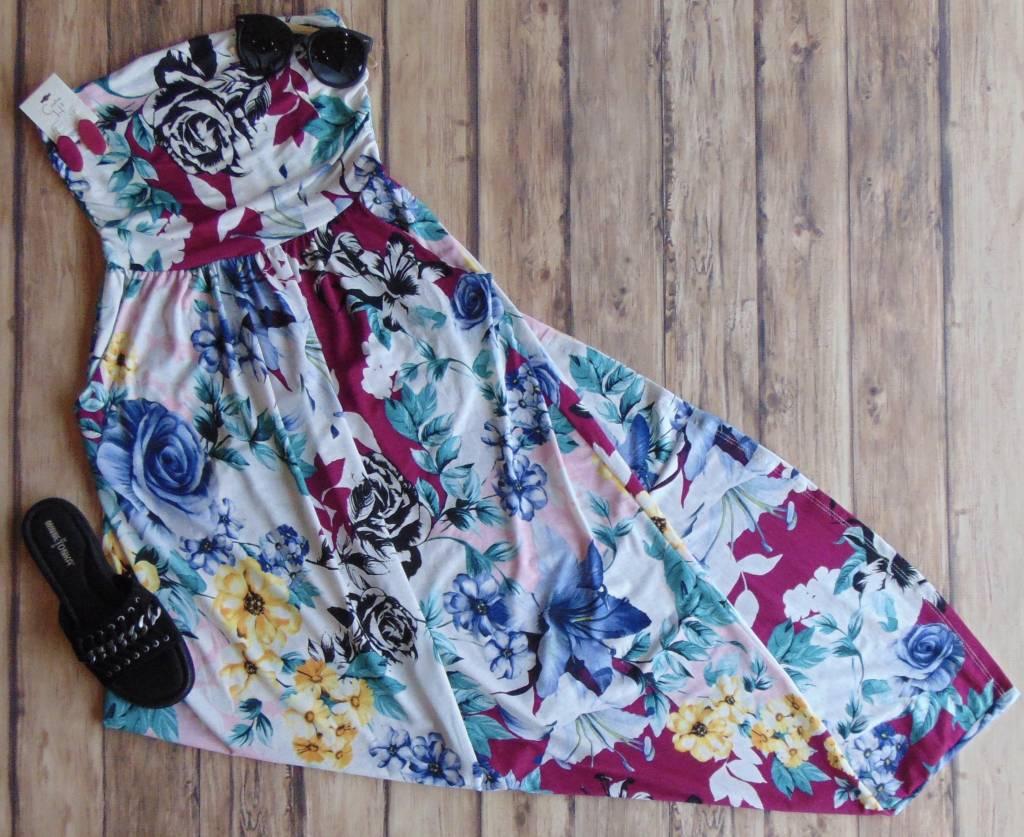 Berry Bliss Maxi Dress