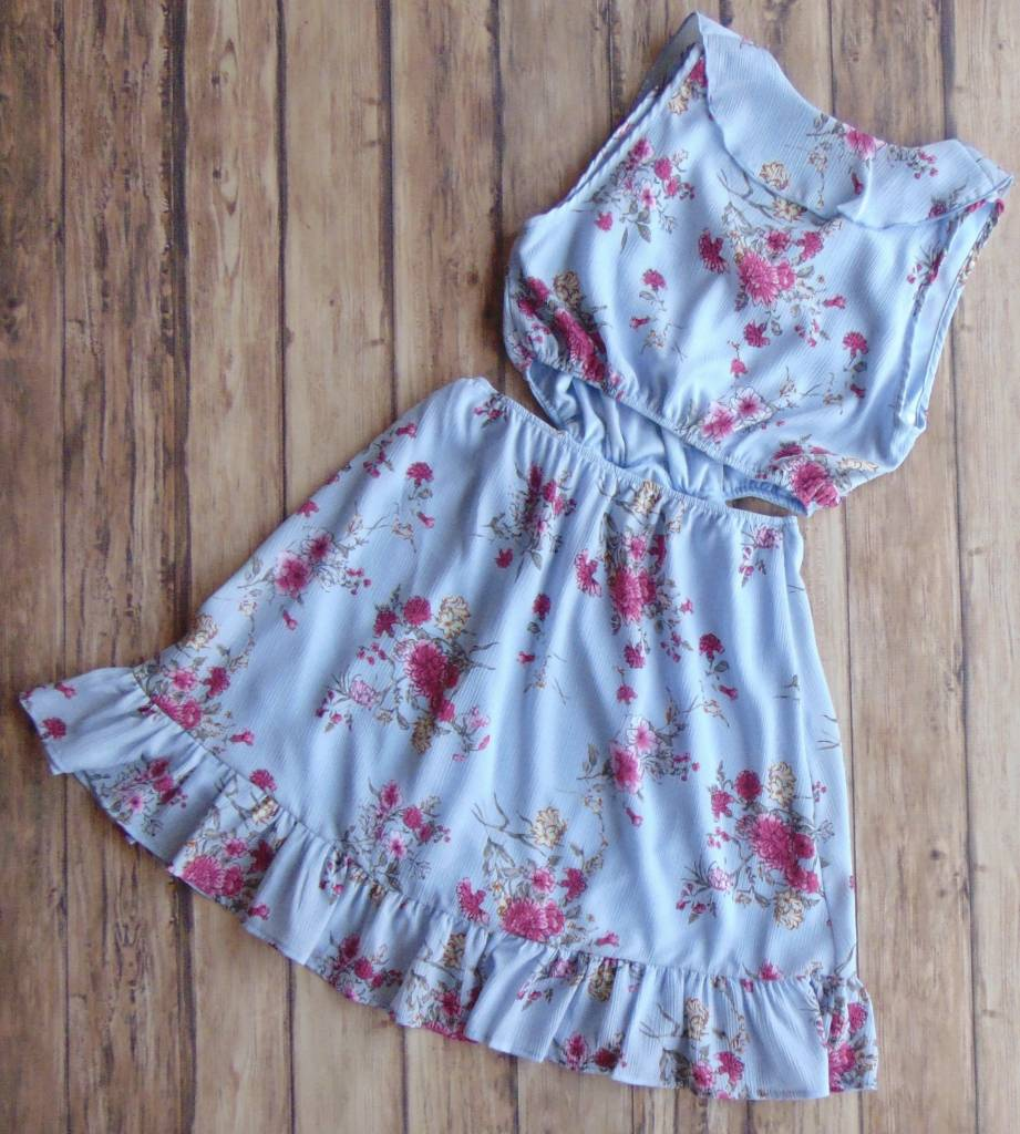 Just The Way You Are Open Back Dress
