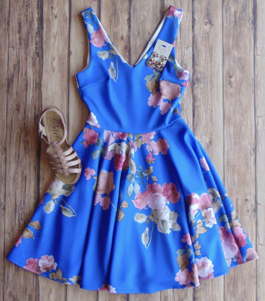 All That Jazz Floral Dress
