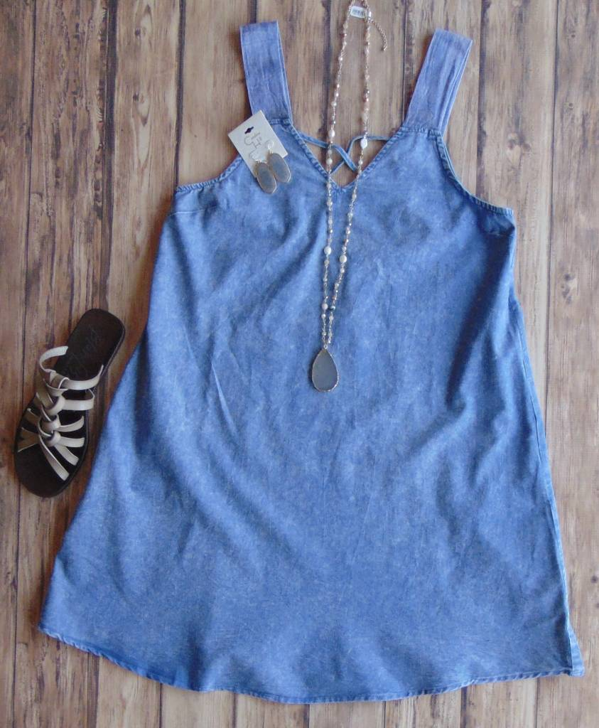 Hold Me, Dear Denim Dress