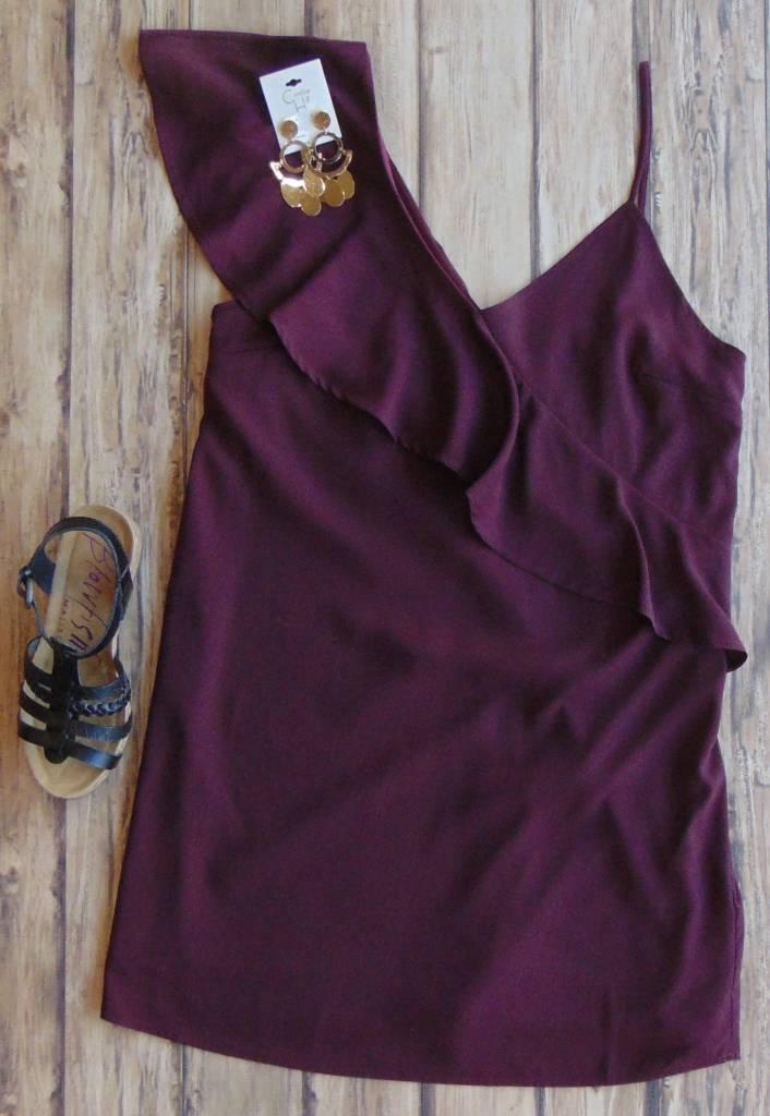 I Ordered The Merlot Dress