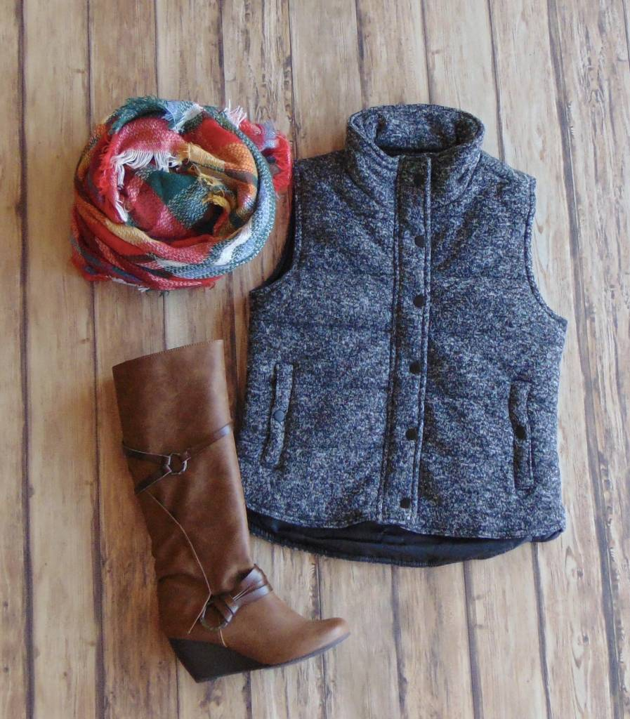 Headed to the Orchard Vest