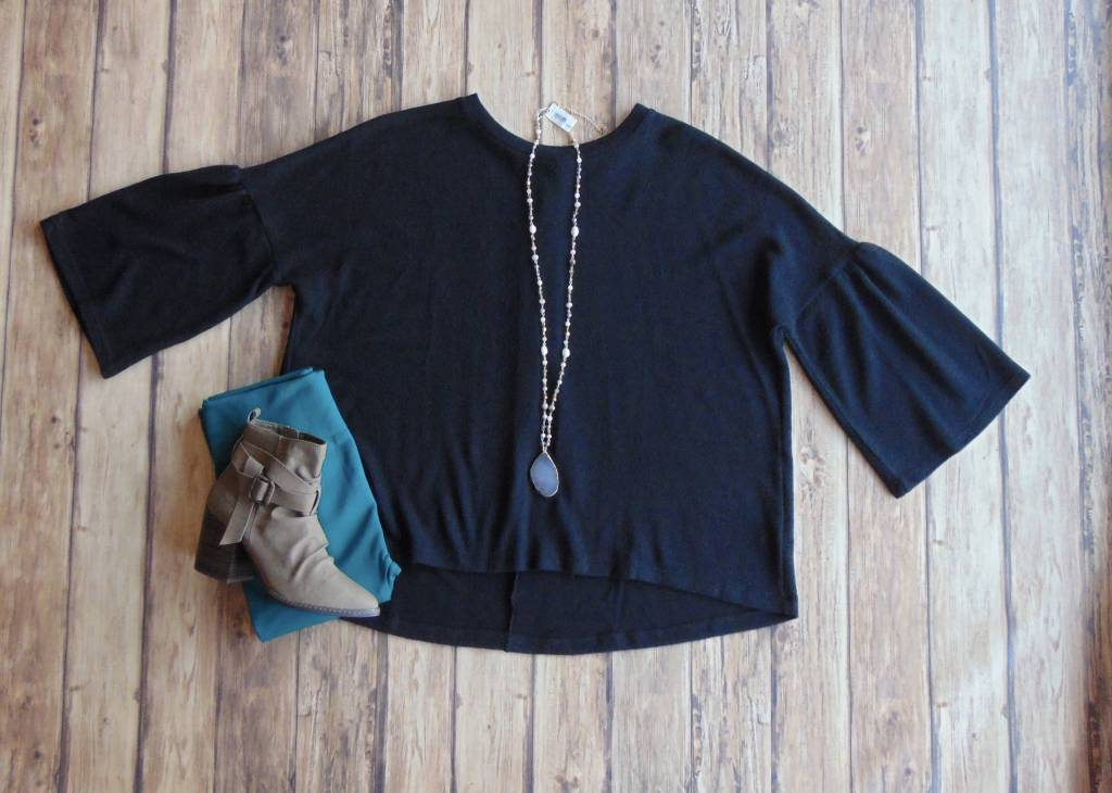 Dream On Brushed Knit Top