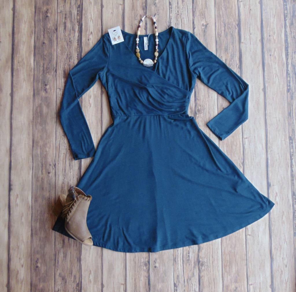 Over and Over Wrap Dress