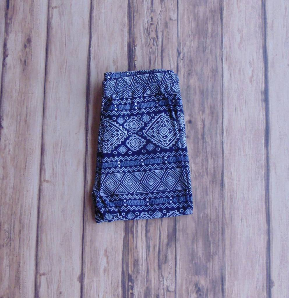 Abstract Tribal Print Legging