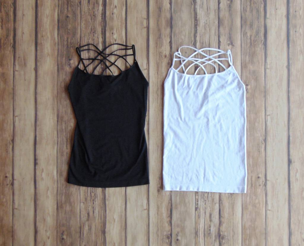 Seamless Criss Cross Camisole