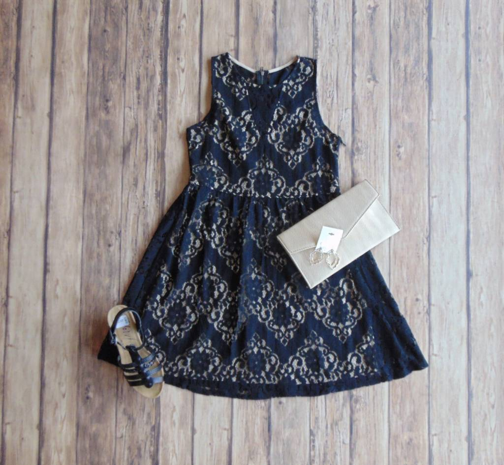 Out On The Town Lace Dress