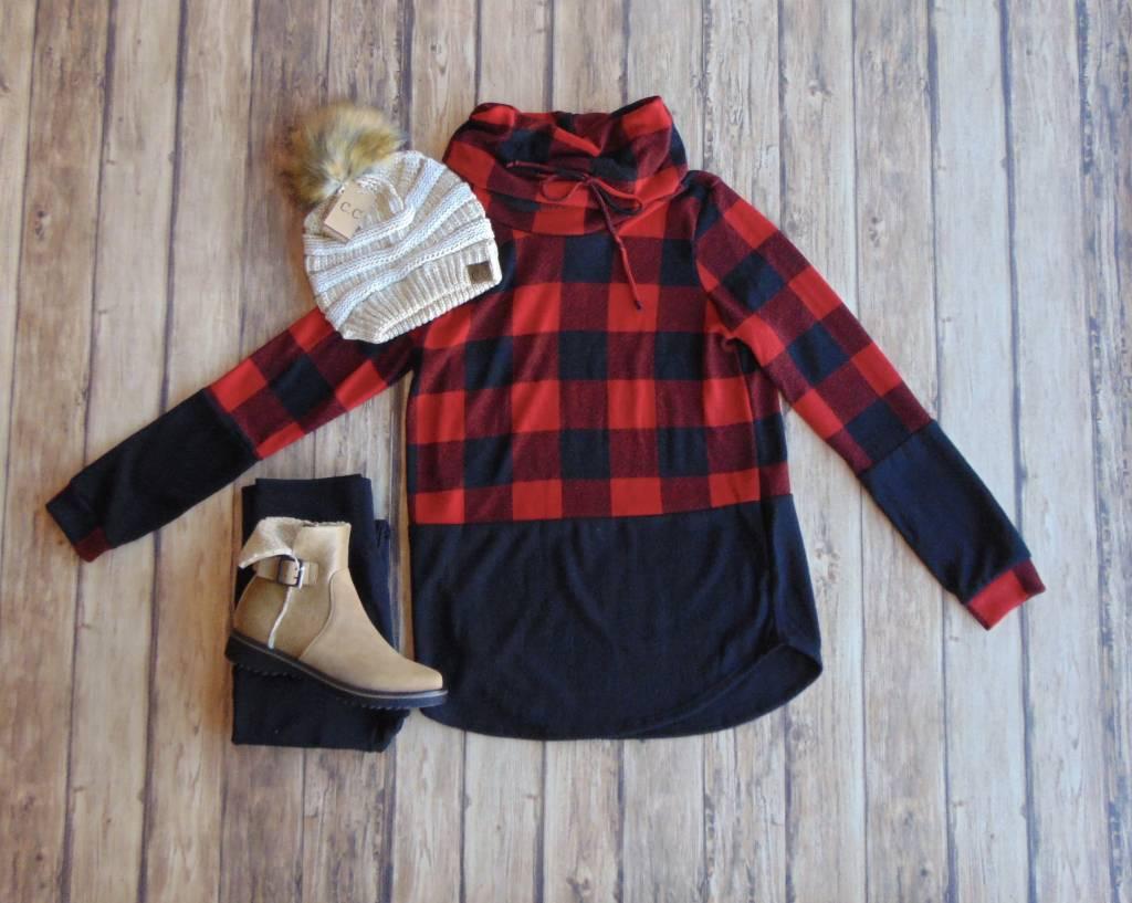 Cozy Up Cutie Cowl Sweater