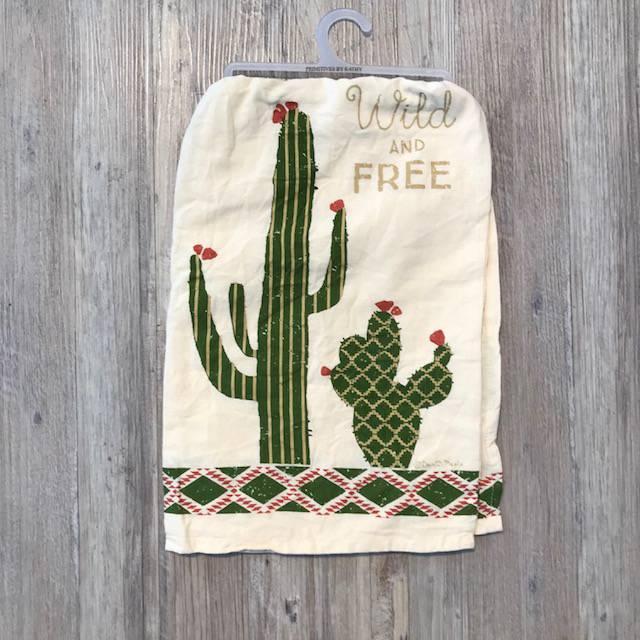 Dish Towel - Wild & Free