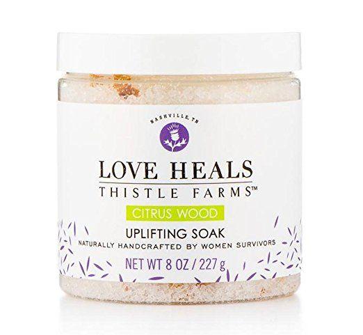 Love Heals - Thistle Farms - Uplifting Soak - Citrus Woods