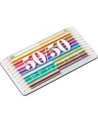 50/50 Colour Pencil Set