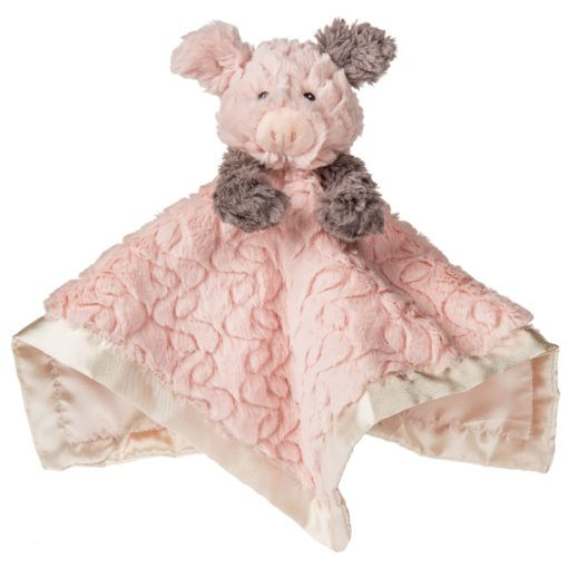 Putty Nursery Piglet Character Blanket