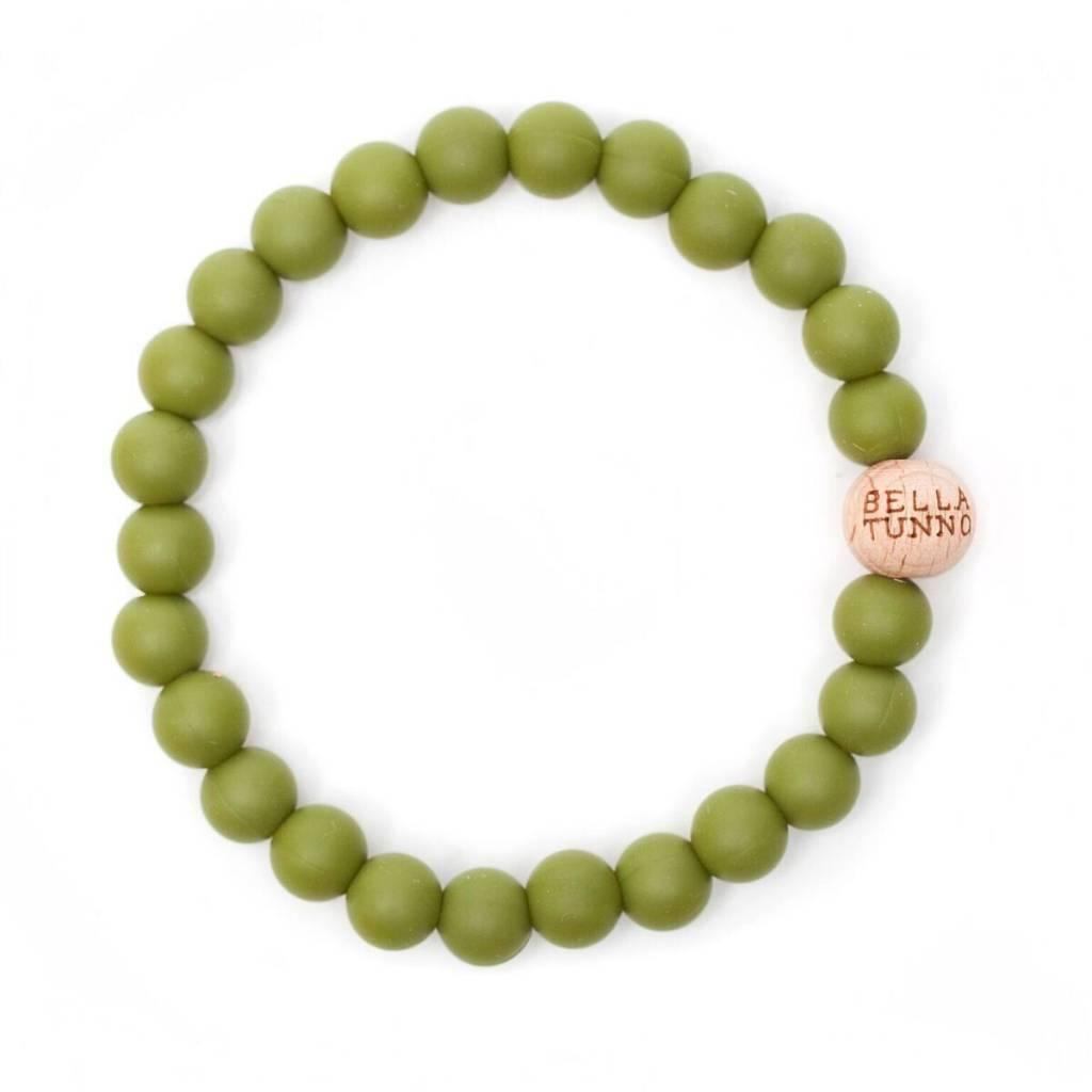 BT Teething Bracelet- Olive